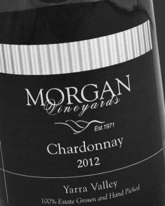 Morgan Vineyards 2012 Chardonnay